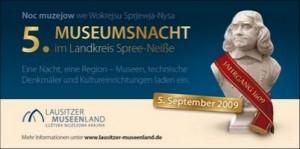 Flyer 5. Museumnacht im Landkreis SPREE-NEISSE